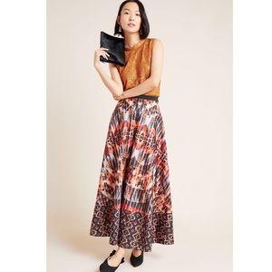 Anthropologie Bhanuni Jyot Kaleidoscope Maxi Skirt
